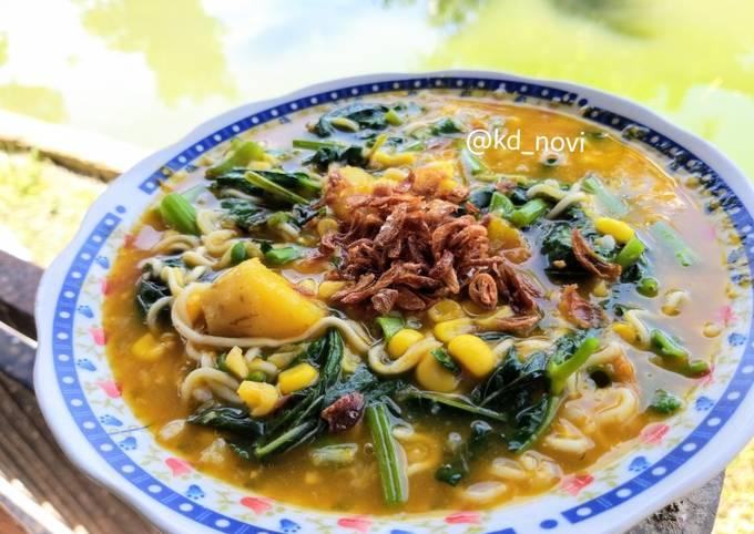 Resep Tinutuan Bubur Manado Original Komplit Oleh Noviasih Kadek Novi Cookpad