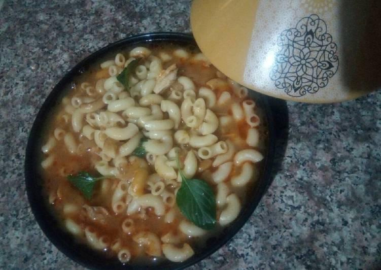 Soupe de macaroni