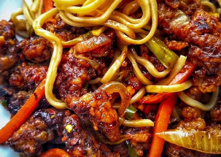 Crispy Shredded Chilli Beef (Takeaway Style)