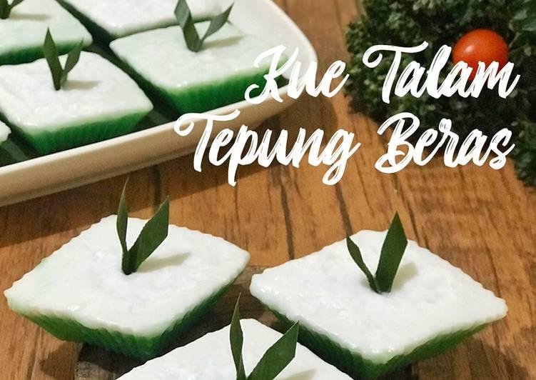 Kue Talam Tepung Beras - cookandrecipe.com
