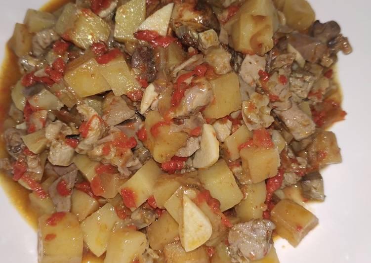 Sambal goreng ati kentang ❤️
