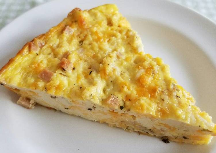 Simple Way to Make Ultimate Crustless Tofu Quiche