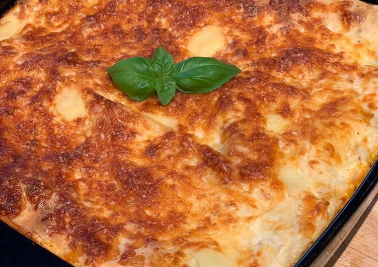 Recipe: Yummy Pork & Fennel Lasagne