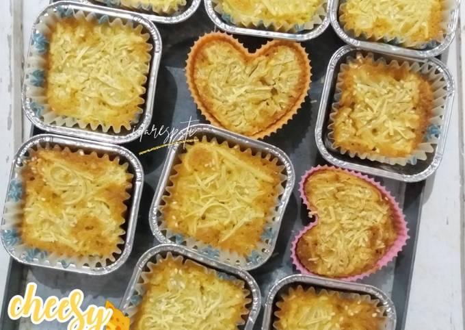 Resep Muffin Keju Tanpa Mixer Oleh Ida Respati Cookpad