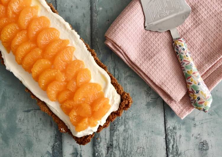 Easiest Way to Make Award-winning Orange Cream Cheesecake
