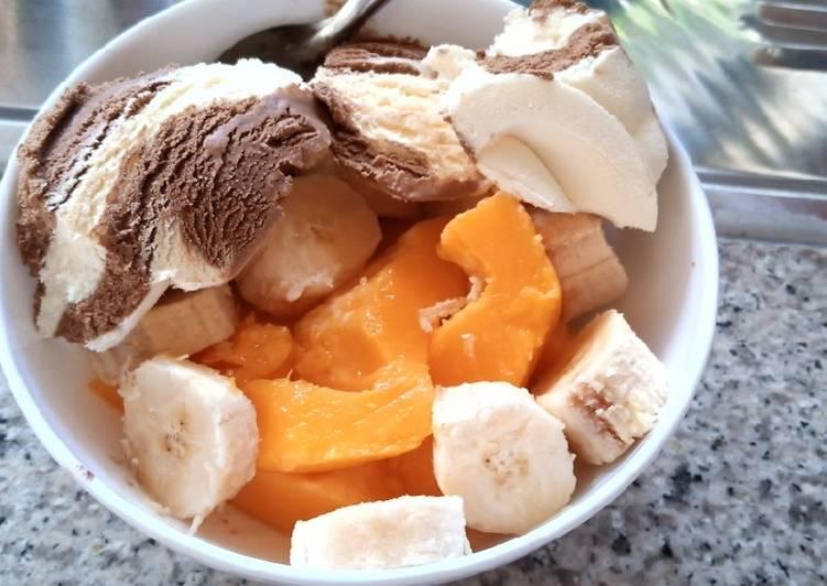 Recipe of Homemade Fruit salad