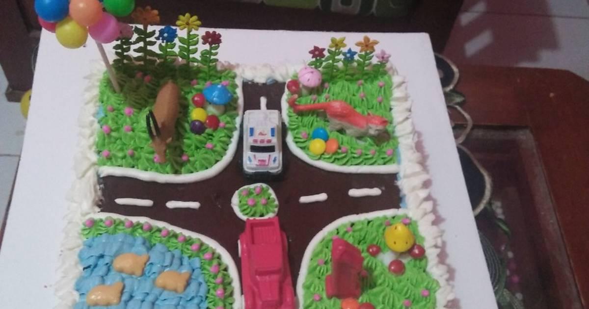 Resep Kue Ulang Tahun Anak Oleh Shinta Eka Pratiwi Cookpad