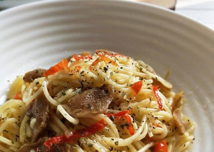 121. Spaghetti Aglio Olio