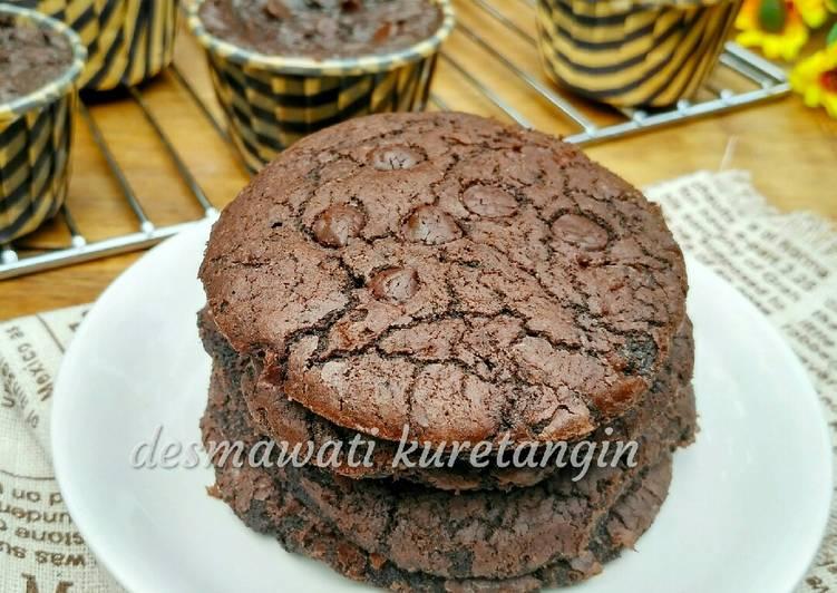 Cookies & Cup Cake Brownies Cruncy di Luar Lumer di Dalam