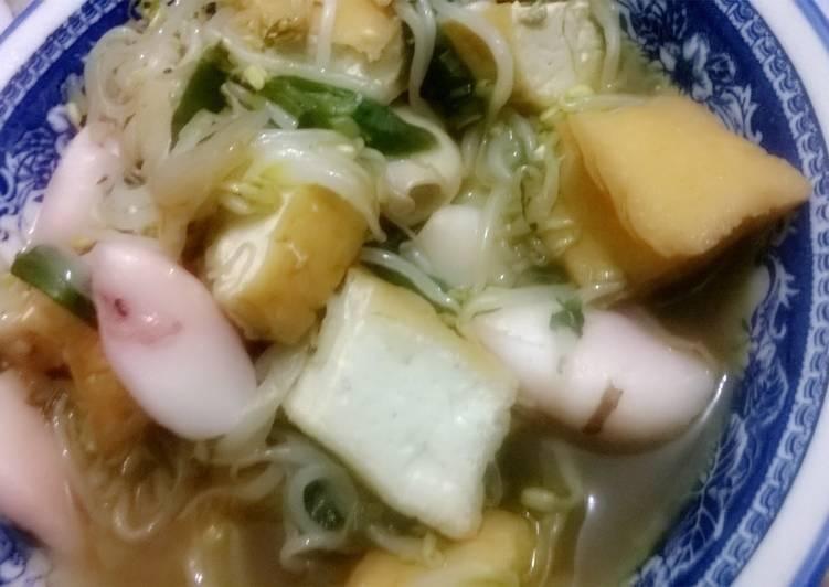 Tahu Sumedang Seafood Saus Tiram