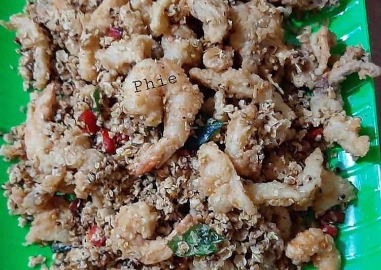 Seafood Nestum