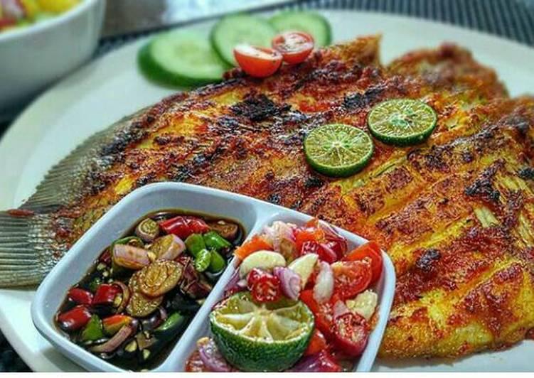 Resep Ikan Gurame Bakar Oleh Anggra Pavina Cookpad