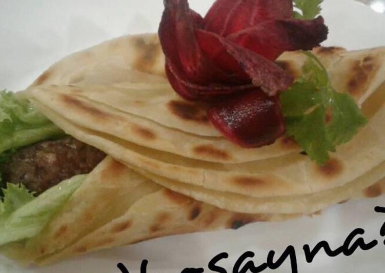 Whosayna's Parathha Kebab Roll
