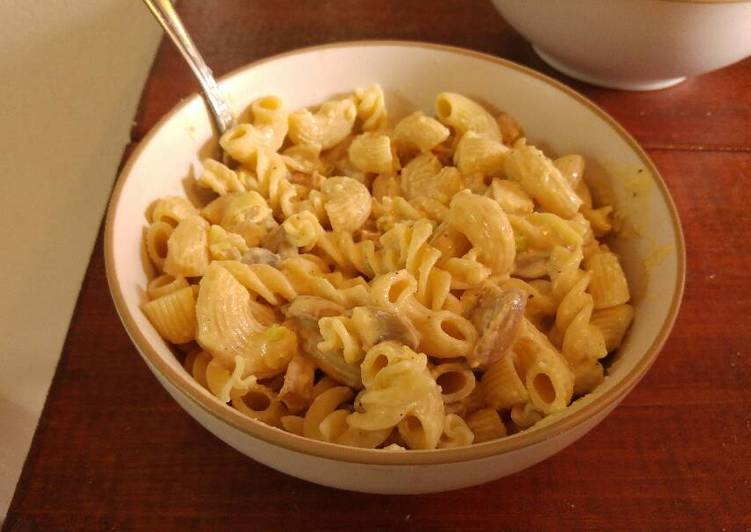Recipe: Yummy Chicken Alfredo Pasta