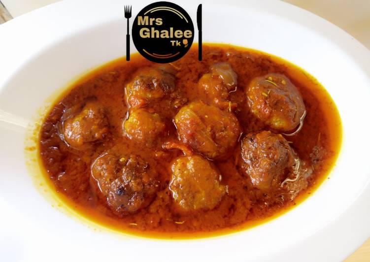 Meat balls stew