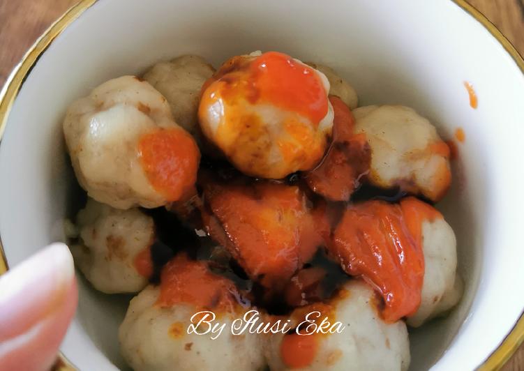 Cilok Mewah (Daging Jamur)
