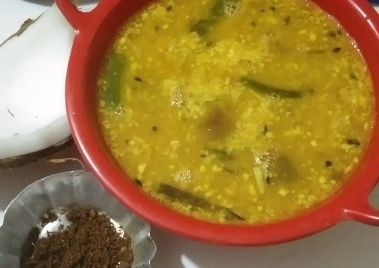 Sweet and sour dal