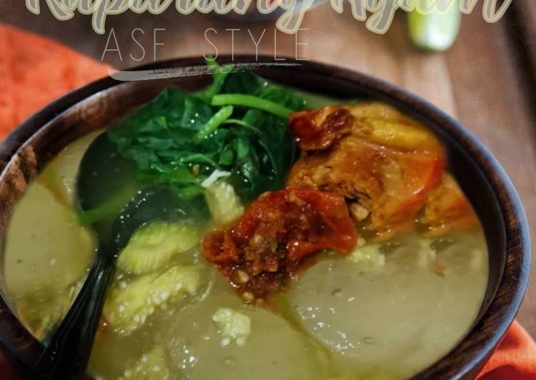 Kapurung Ayam Ahlia Syed Firdaus Style - velavinkabakery.com
