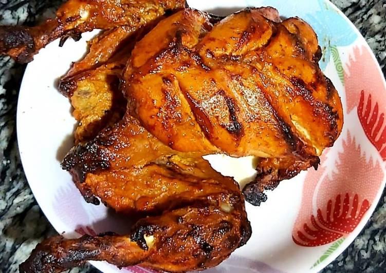 Hearty Comfort Dinner Easy Quick Tandoori chicken
