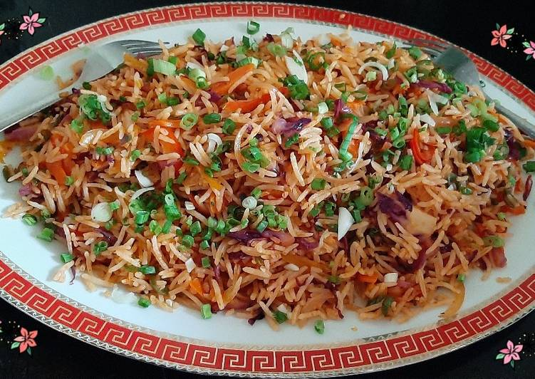 Step-by-Step Guide to Make Award-winning Schezwan Fried Rice