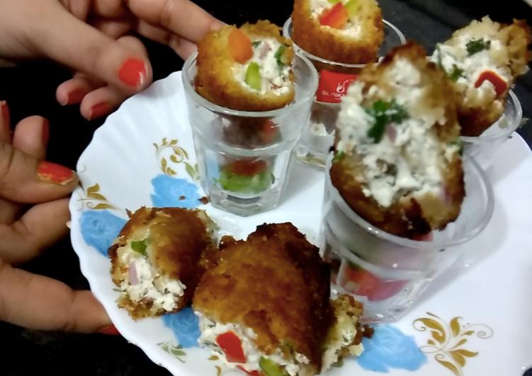 Simple Way to Make Homemade Curd Fireball   Dahi ke Shole