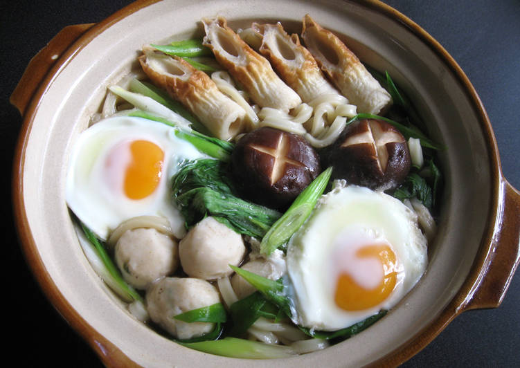 Recipe: Appetizing 'Nikomi' Simmered Udon Soup