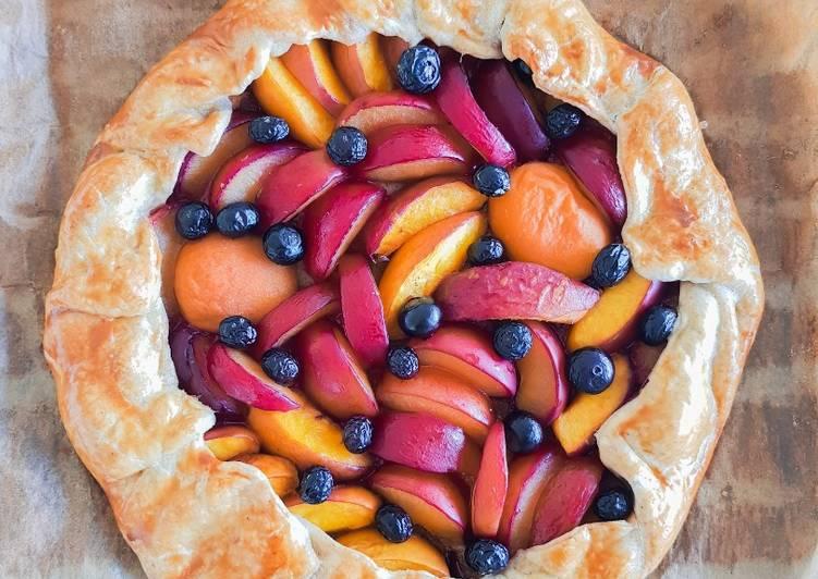 Tarte rustique aux fruits