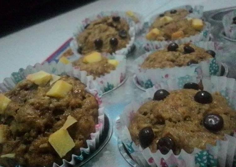 Muffin pisang gula palm