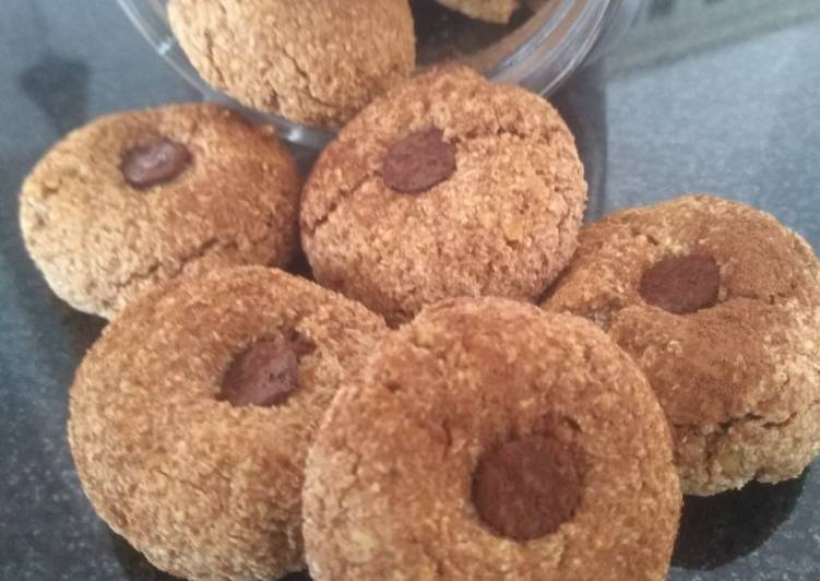 Biscuits aux noix de coco et noisettes