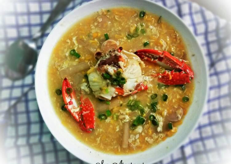 Resep Sop Asparagus Rajungan Oleh Ichy Oviant Cookpad