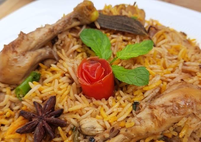 Easiest Way to Make Any-night-of-the-week Hydrabadi Chicken Dum Biryani