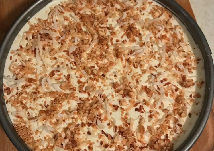 Pistachio Pudding Pie