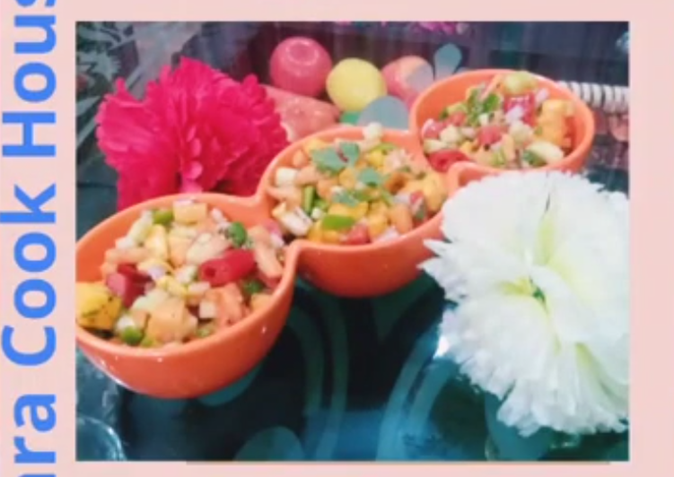 Steps to Prepare Any-night-of-the-week Mango Salsa #Mango Masti