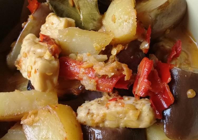 Sayur lodeh kentang