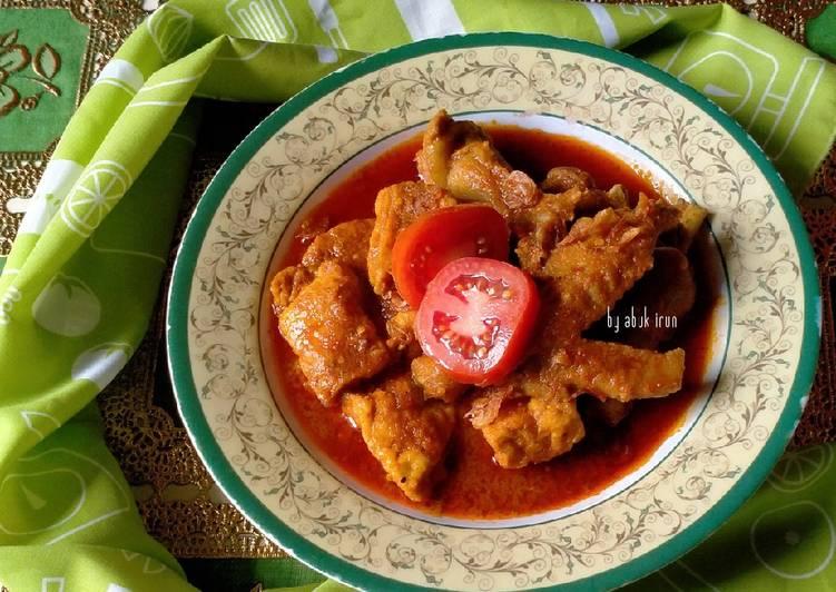 Ayam Tahu bumbu Cigading (Ayam Pesmol)