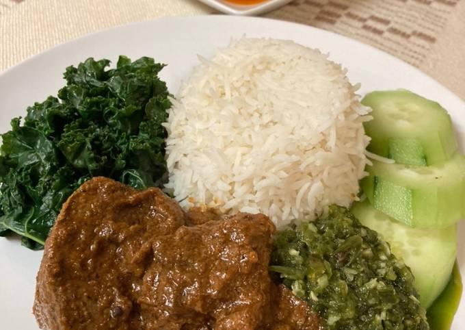Beef Rendang/Rendang Daging ala Perantauan 😉😜