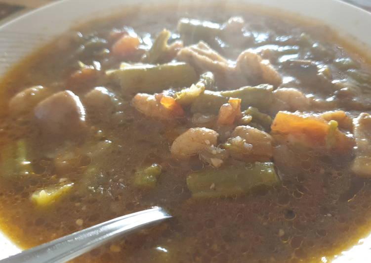 Sopa de revueltos de verduras, para esta Navidad en la olla gm g