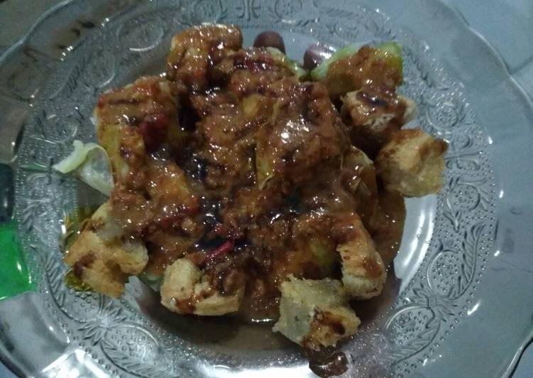 Cara Gampang Mengolah Batagor aci,kol aci(somay gulung aci + tahu aci) + saus kacang, Enak Banget