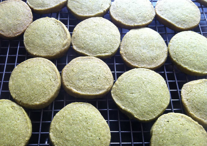 How to Cook Delicious Super Easy Matcha Biscuits
