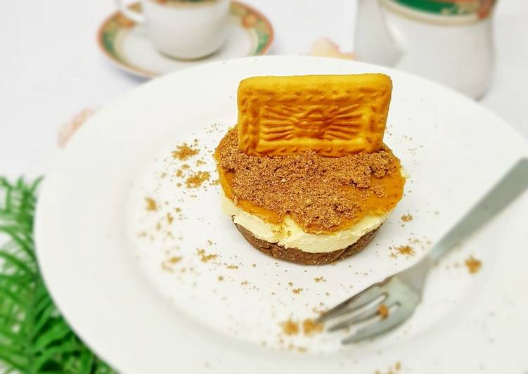 Biskut Tiger Cheesecake ala Biscoff Cheesecake