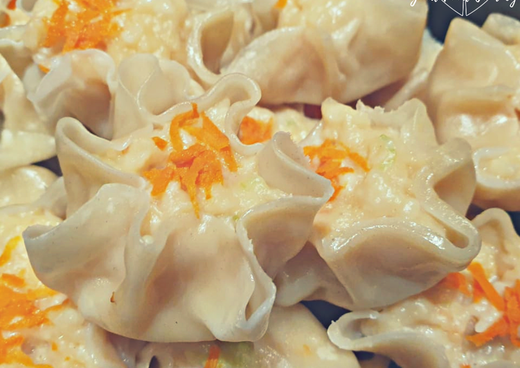 Steps to Make Any-night-of-the-week Chicken Shumai (dumplings)