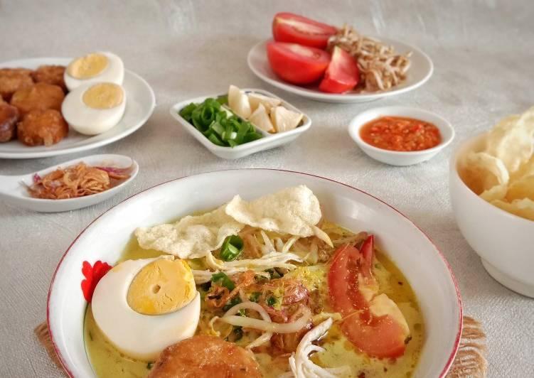 Soto Ayam Santan Medan