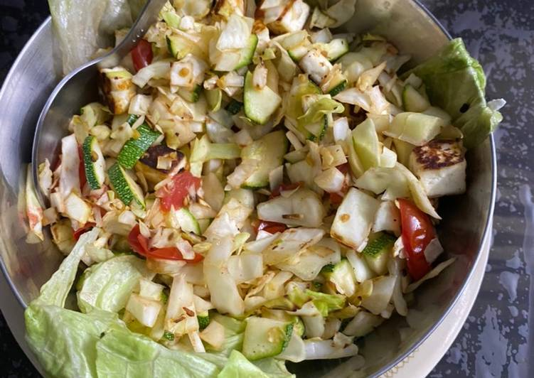 Keto Paneer Salad