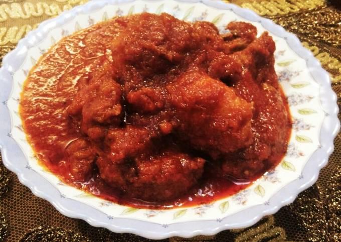Ayam Masak Merah Nenek Style👵