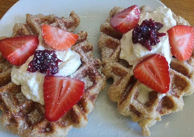 The Best Dinner Easy Ultimate Fluffiest Coconut Waffles