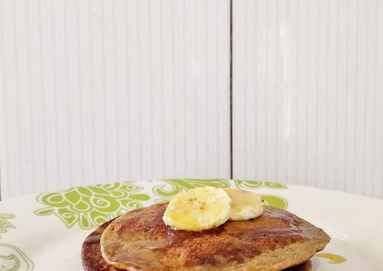 Resep Banana Oatmeal Pancake (healthy,low cal, simpel & diet friendly)