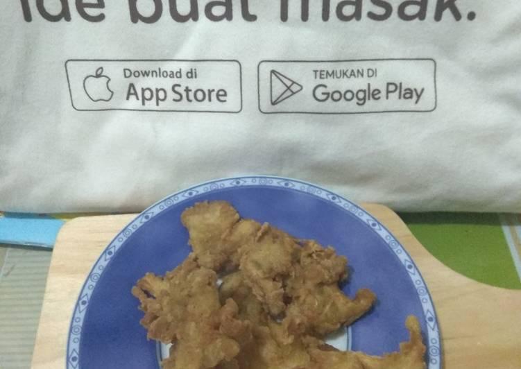 Jamur Tiram Krispi