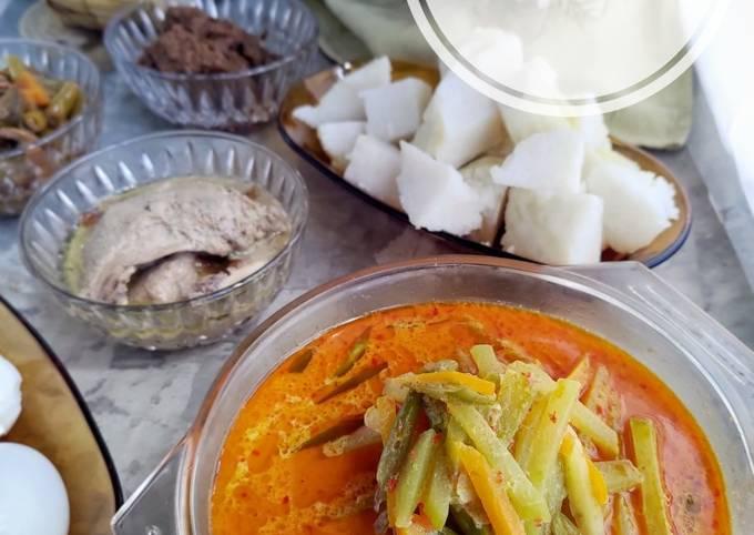 Sayur Godog Labu Siam (kuah lontong/ketupat)