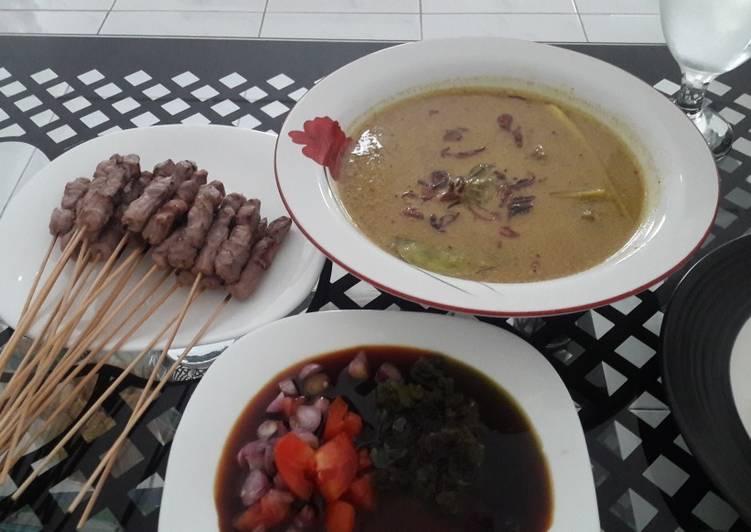 Gule Daging Sapi (Ala Gule Kambing Tegal)pendamping Sate Tegal