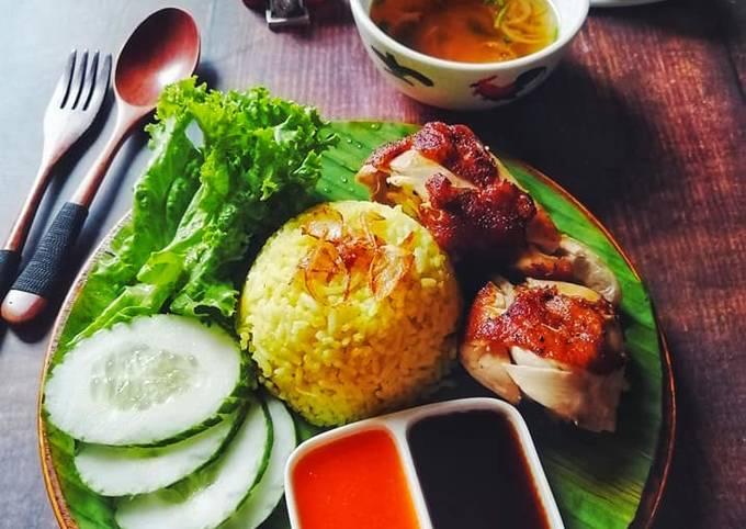 Nasi Ayam Merecik Mudah Ringkas Power